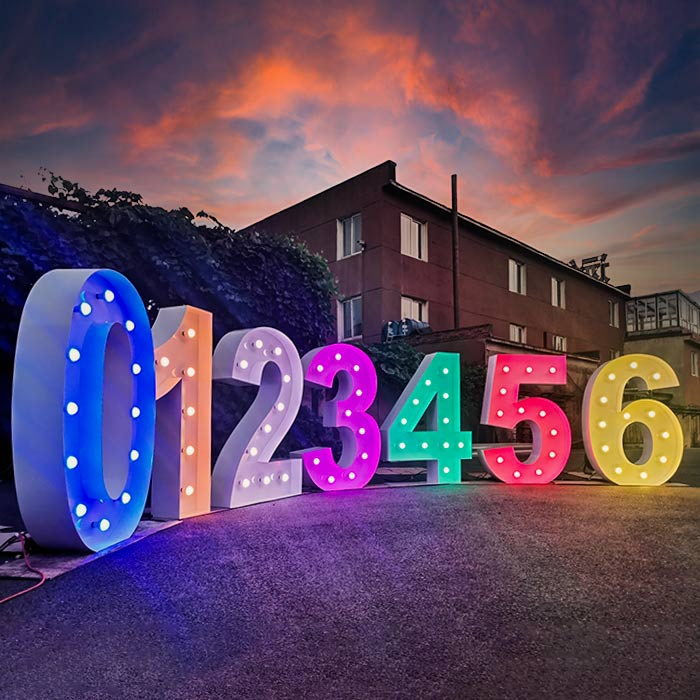 marquee numbers for sale