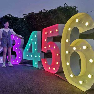 led letter lights