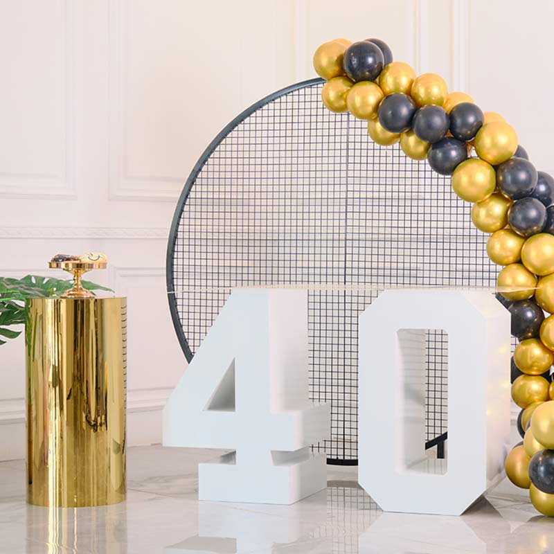 birthday number letter table