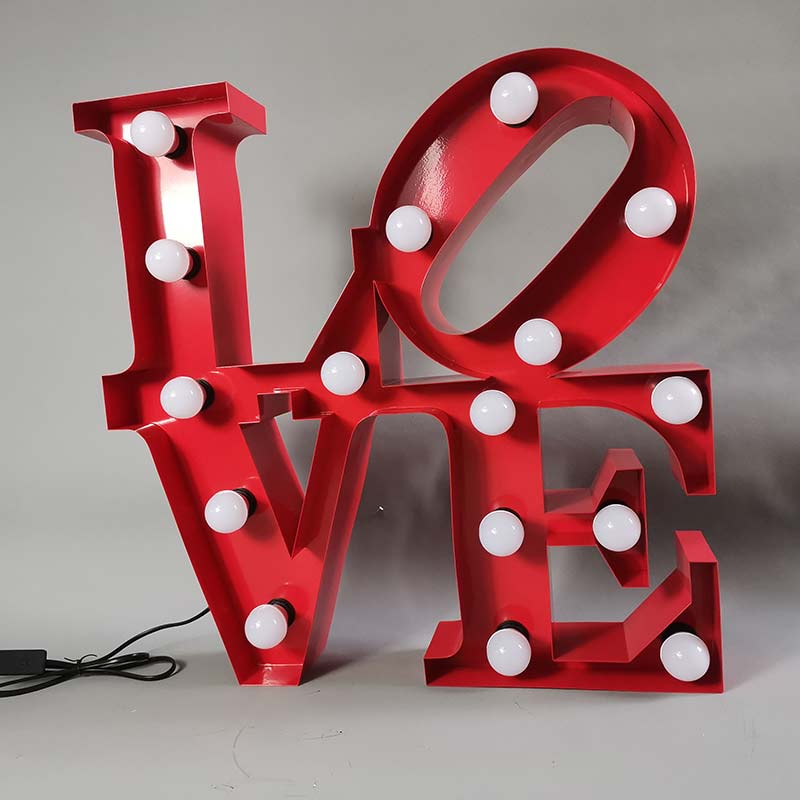 love marquee signs