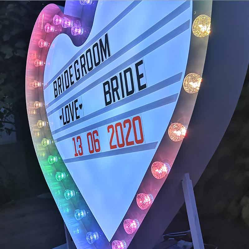 message light sign