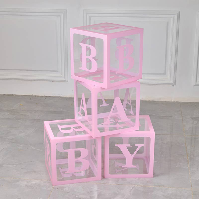 baby shower acrylic box