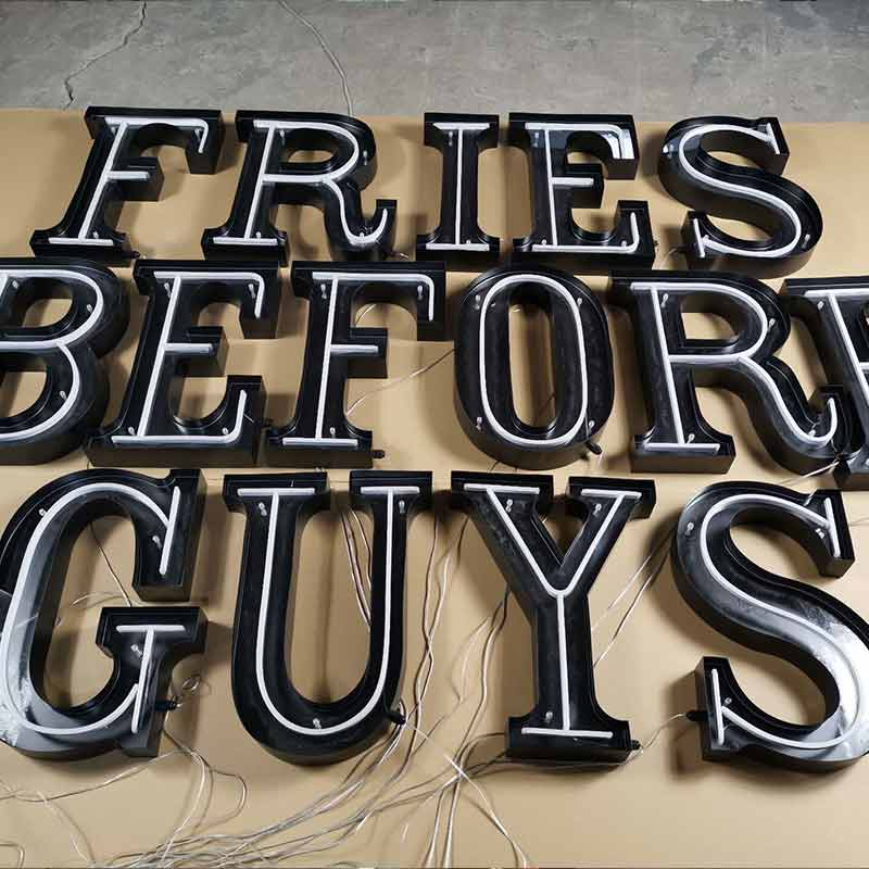 marquee letters for shop decoration
