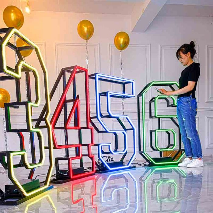 light up marquee numbers