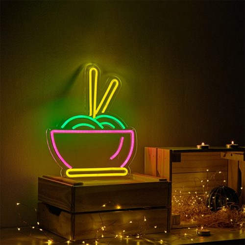 neon sign form home and bar