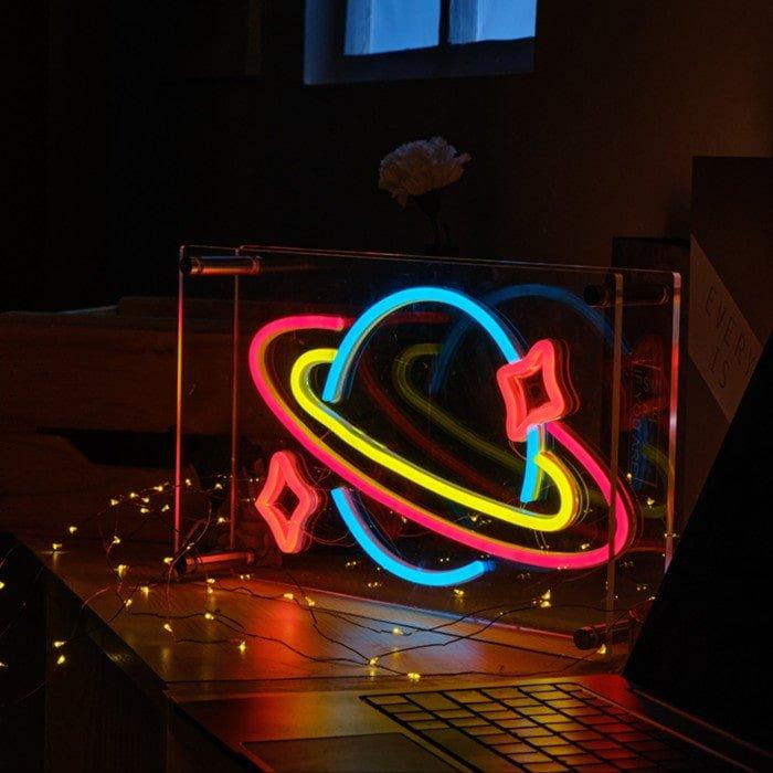 neon sign box