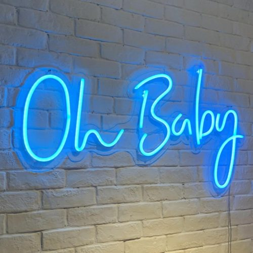 Baby Shower Neon Lights