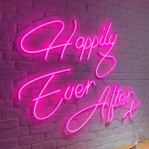 neon lights for weddings