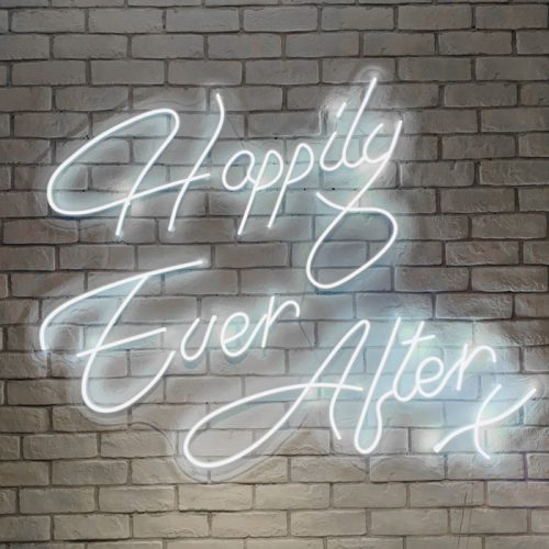 wedding neon sign