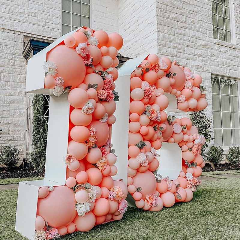 Big Wire Balloon Letter