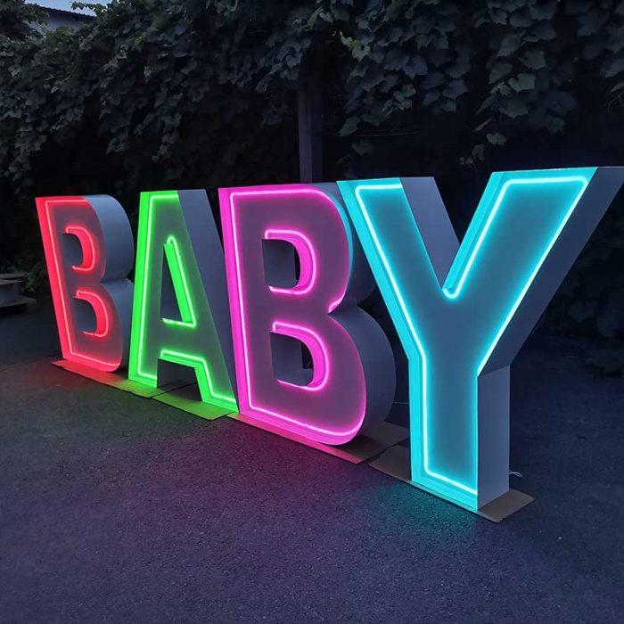 Neon Marquee light