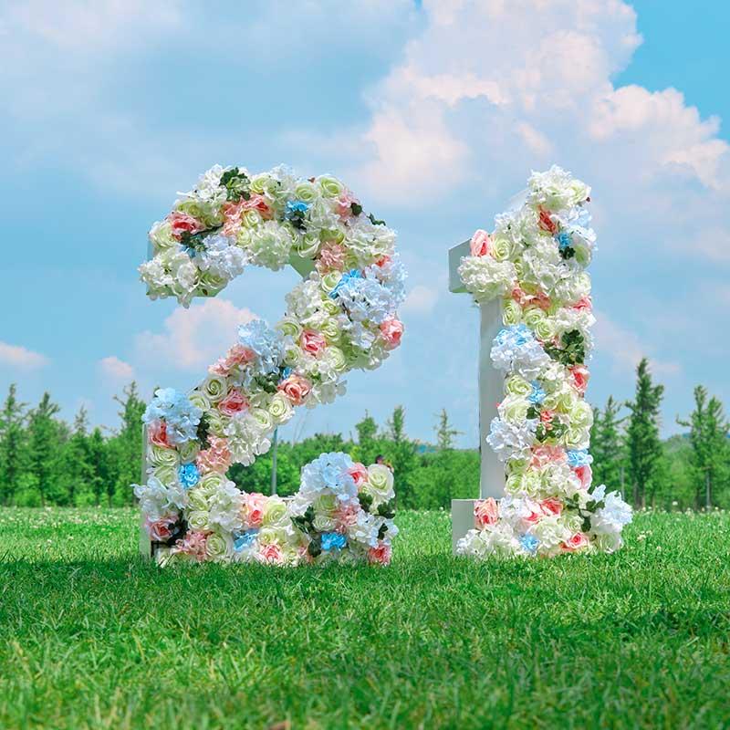 Big Floral letter