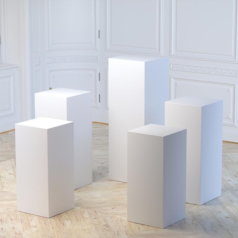 cylindrical plinth