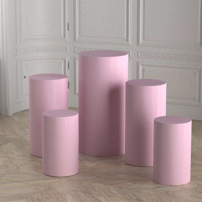 round cylinder pedestal