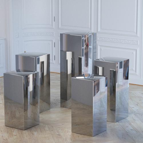 cylinder plinth