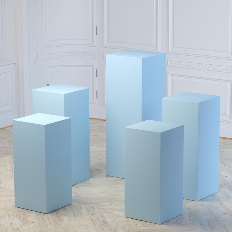cylinder pedestal table