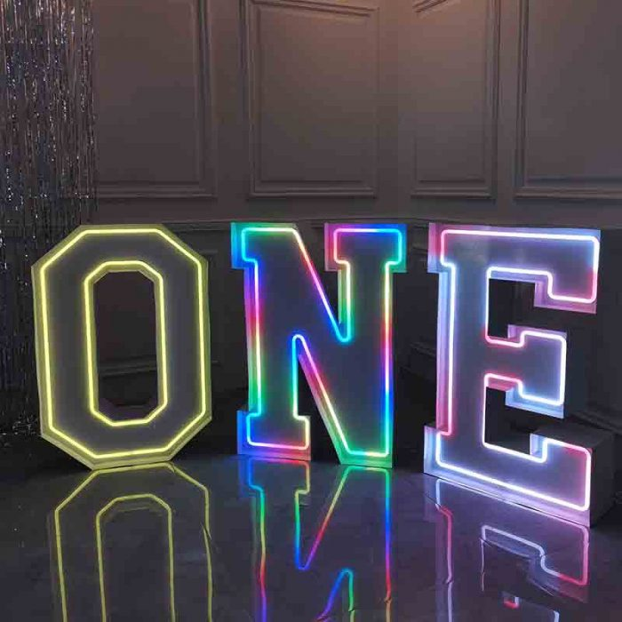 light up letters