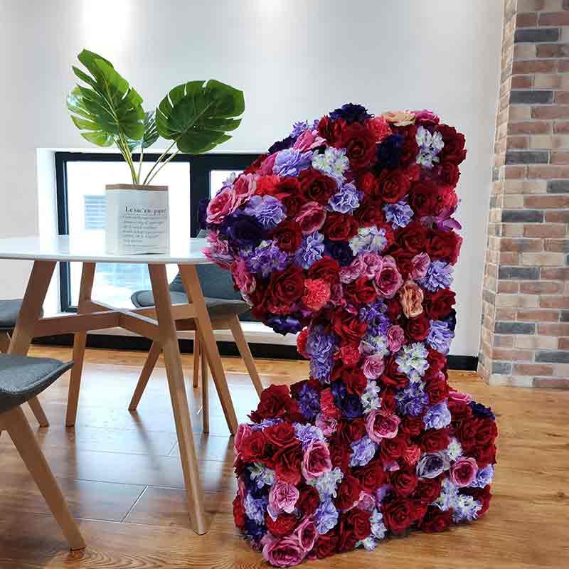 floral number for wedding
