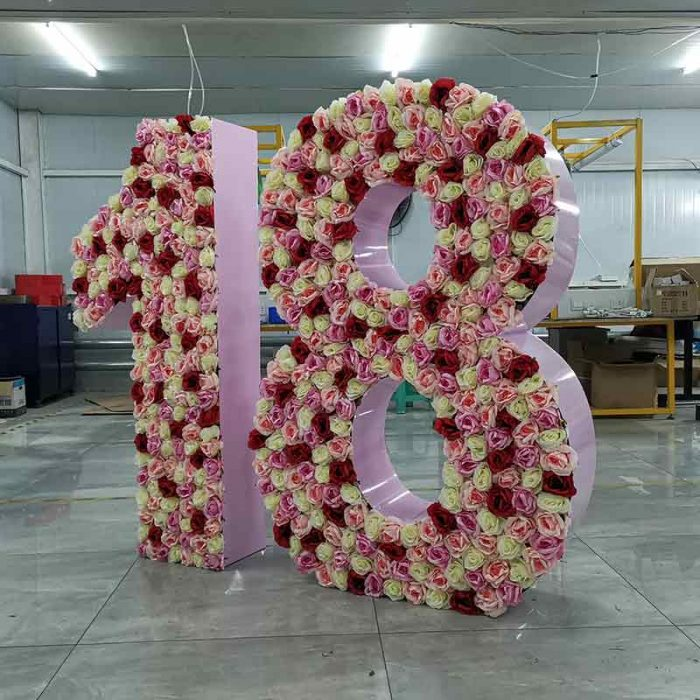 floral number for party