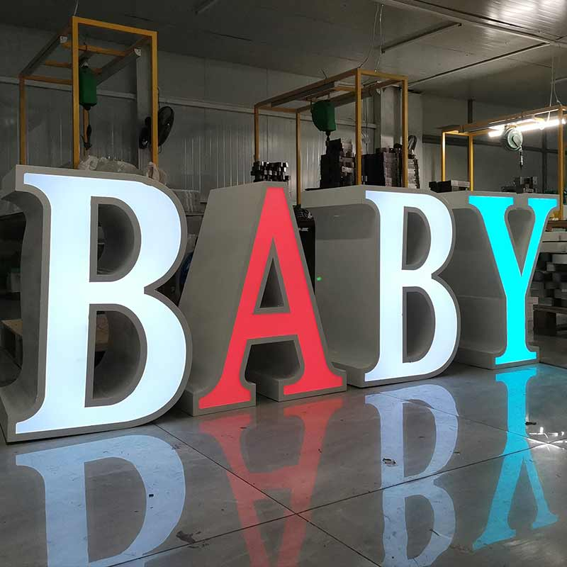 baby table letter
