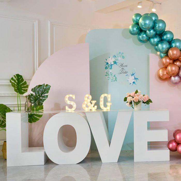 love letter table