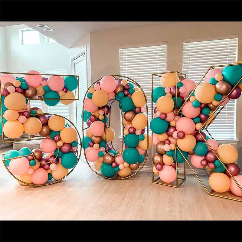 giant wire letters