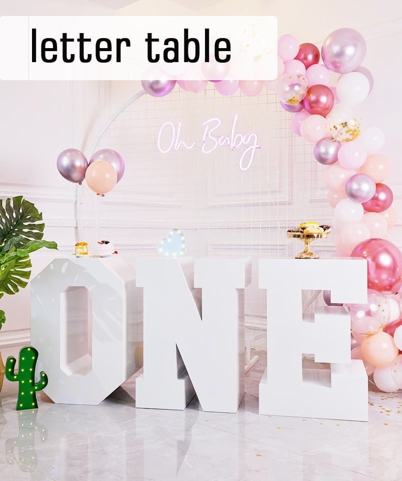 letter table