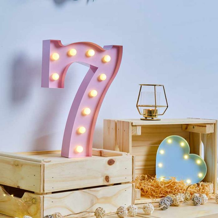 number led bulb marquee letters