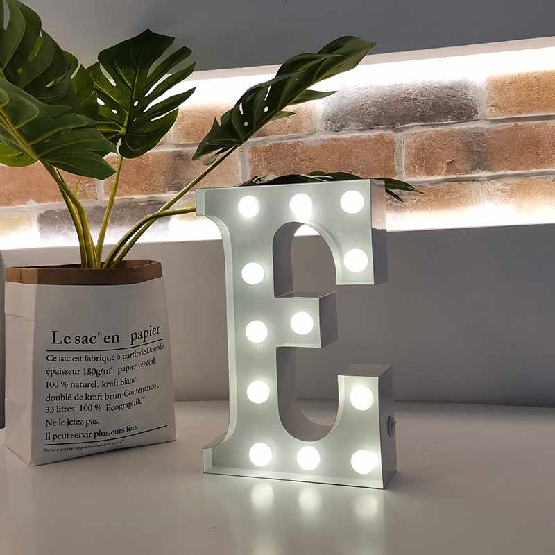 small bulb letter