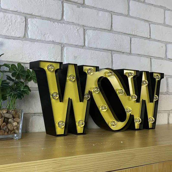 wow letters