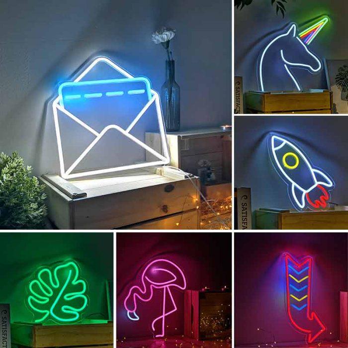 neon light decoration