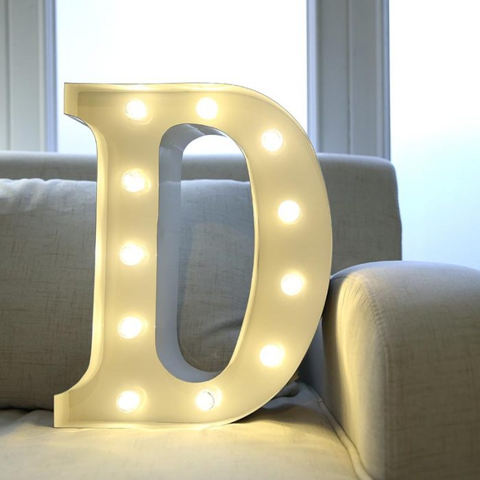 mini marquee letters