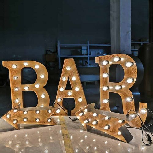light up marquee letters