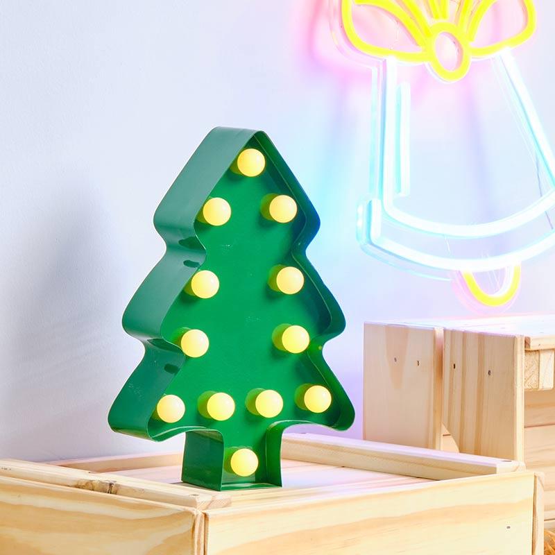 christmas tree marquee lights