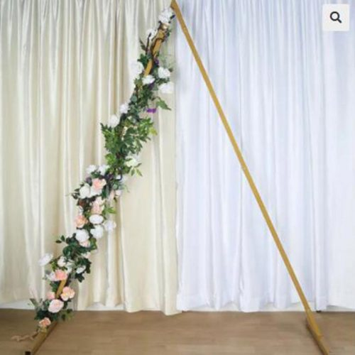 metal Triangle Wedding Arch backdrop for sale